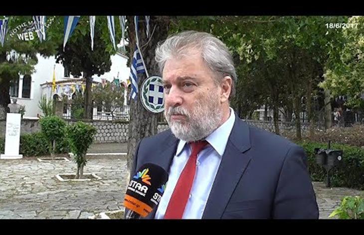 Ο Νότης Μαριάς στις εκδηλώσεις μνήμης σε Υπάτη και Δίστομο